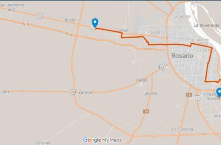 Cambio de recorrido de la Línea 142 N