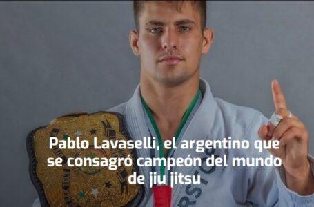 Pablo Lavaselli, el argentino campeón del mundo de jiu jitsu
