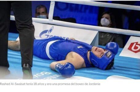 Dolor en el mundo del boxeo por la muerte de Rashed Al-Swaisat tras un nocaut