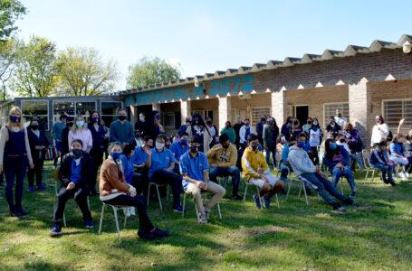 Gerdau inaugura el vivero de la Escuela Especial de Pérez