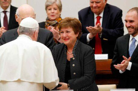 """Francisco pidió al FMI y al Banco Mundial una """"reducción significativa de la deuda"""""""