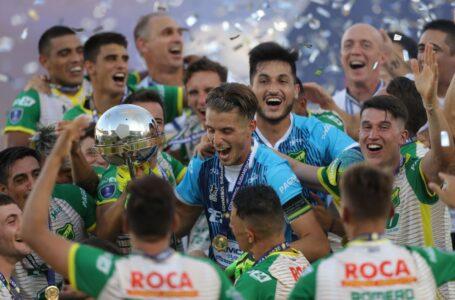 Histórico Defensa y Justicia venció a Palmeiras y es campeón de la Recopa Sudamericana