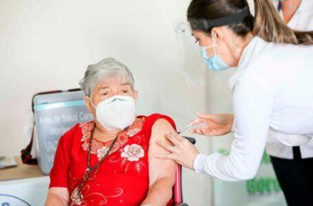 Avanza el operativo de inmunización contra el COVID19 en Roldán