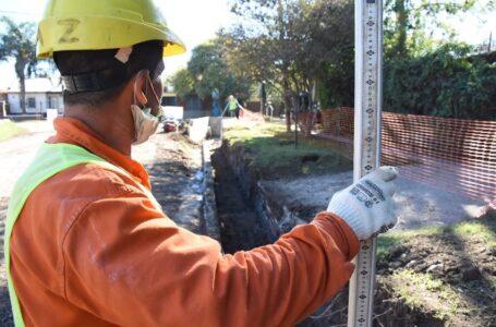 Comenzaron las Obras Hídricas para mejorar el drenaje en el Centro de Funes