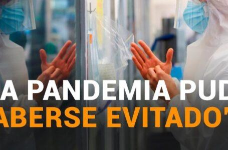 Según la OMS, la pandemia de COVID-19 pudo haberse evitado