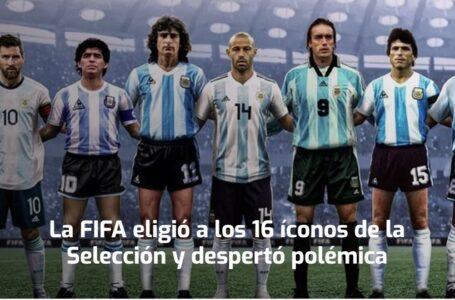 La FIFA eligió a los 16 íconos de la Selección y despertó polémica