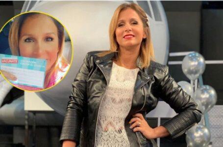 """Fernanda Vives, casada con Sebastián Cobelli se vacunó contra el Covid y explotó la polémica: """"No tengo amigos en el poder"""""""