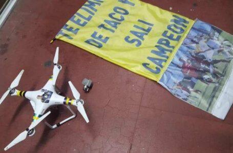 Un dron interrumpió el clásico rosarino