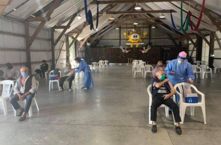 Continúa sin pausa el Operativo Vacunación COVID en Roldán