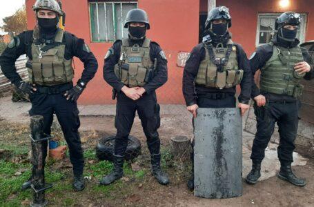 4 Allanamientos para esclarecer un Robo Calificado con heridos por  armas blancas en Roldán