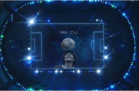 El espectacular homenaje a Diego Maradona en la Copa América