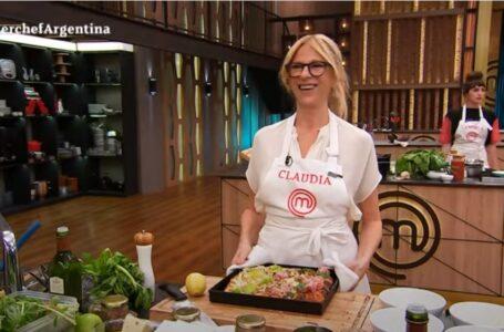 Claudia Fontán volvió a hacer trampa en MasterChef Celebrity