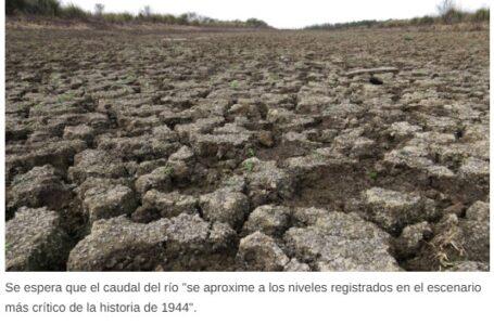 Preocupa: El río Paraná descendió a menos de 0 y se acerca al año más bajo de la historia