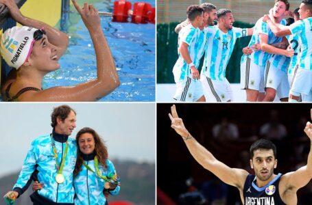 Argentinos clasificados a los Juegos Olímpicos de Tokio 2020