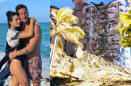 Tragedia en Miami: Nico Vázquez y Gimena Accardi estaban en el edificio que se derrumbó