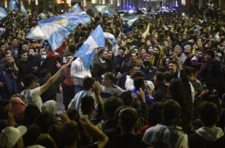 La ministra de Salud advirtió sobre un rebrote de contagios luego de los festejos por el triunfo de Argentina.