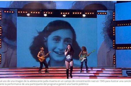 Luego del Fuerte repudio llegó la denuncia a Tinelli y Showmatch por la utilización de la imagen de Ana Frank