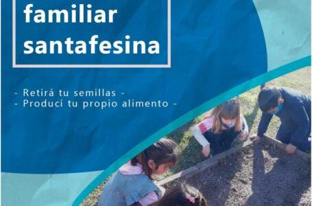 Retirá tus semillas para Huerta Familiar en Roldán