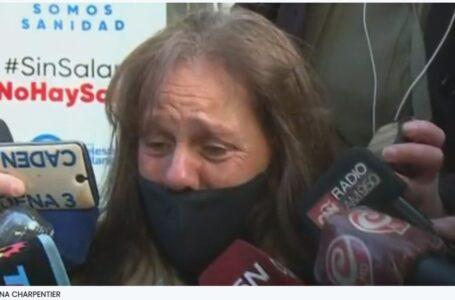 """Desgarrador llanto de la mamá de Chano Moreno Charpentier: """"Hace 20 años mi hijo pide ayuda"""""""