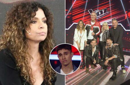 """El enojo de Patricia Sosa con el jurado de """"La Voz Argentina"""""""