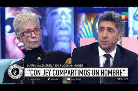 """María Valenzuela enmudeció a Jey Mammón en vivo: """"Nosotros compartimos un hombre"""""""