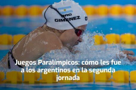 Juegos Paralímpicos: cómo les fue a los argentinos en la segunda jornada