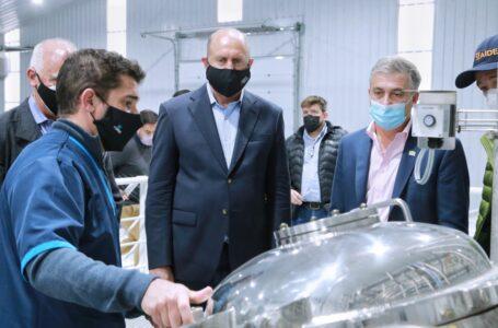 Pedretti y Perotti visitaron la empresa FORBIO