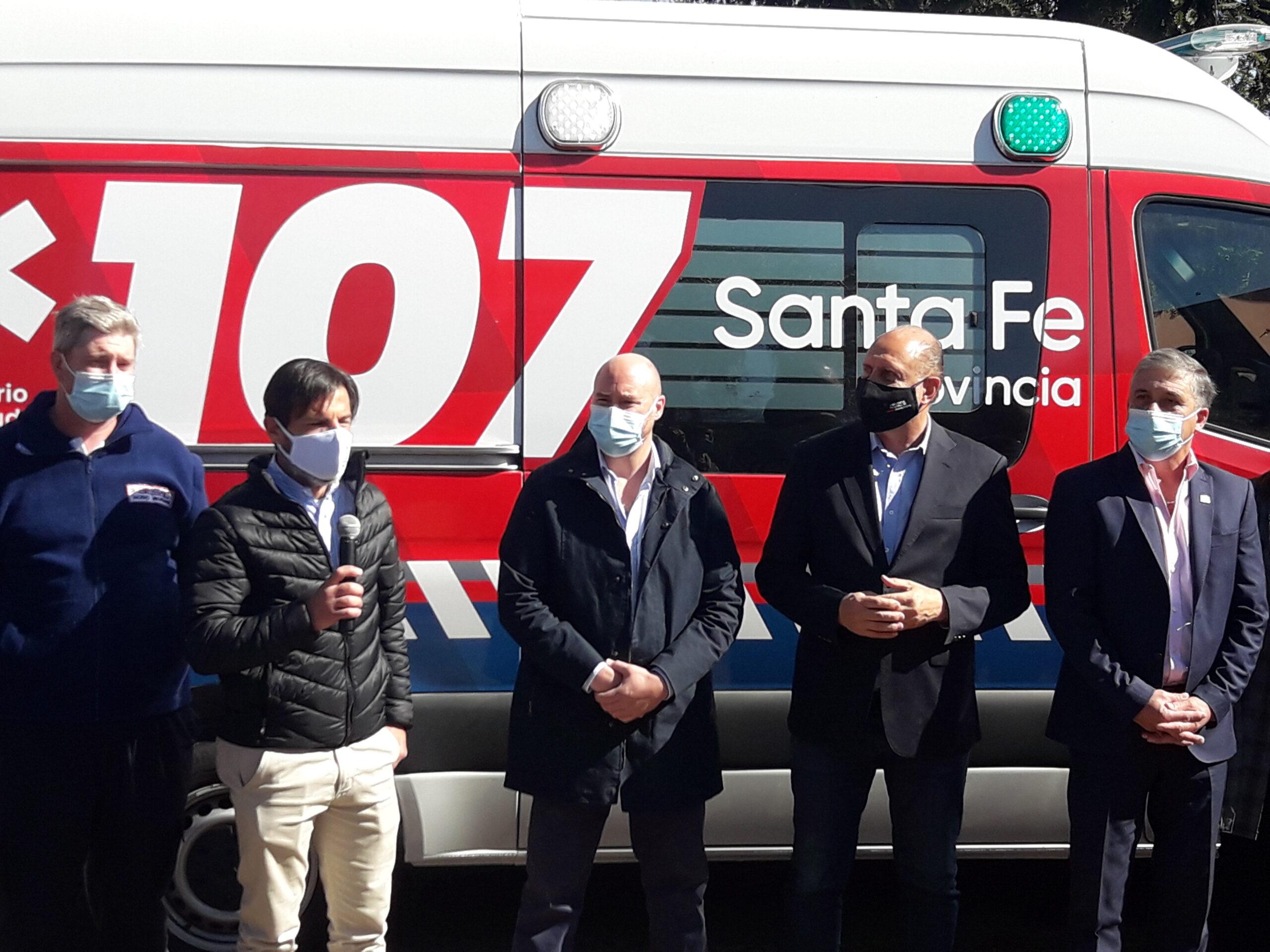 Roldán suma una nueva ambulancia de alta complejidad al Hospital Rural