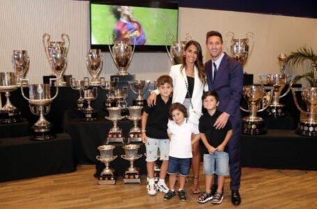 """El contundente mensaje de Antonela Roccuzzo para Messi: """"Vamos juntos hacia donde sea"""""""