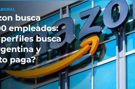Amazon ofrece trabajo en Argentina: cuánto pagan y qué puestos necesitan