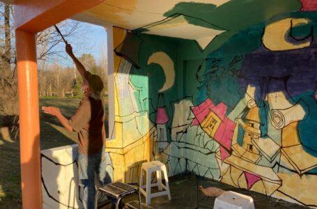 1er Encuentro de Muralismo Urbano en Roldán
