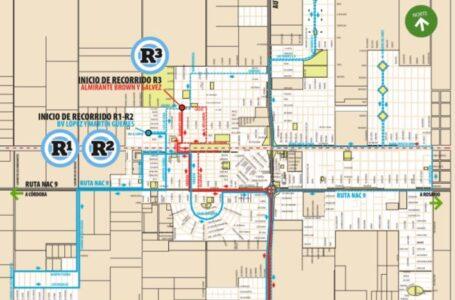 Extienden recorrido del transporte Urbano de Roldán