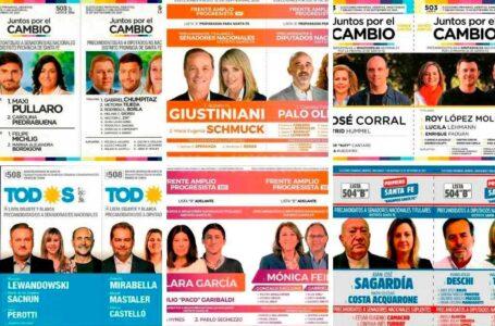 Resultados elecciones 2021 en provincia de Santa Fe: PASO