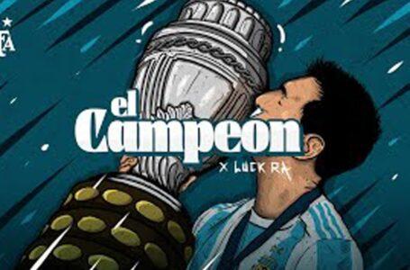 """El tema """"El Campeón"""" será el nuevo """"himno"""" del seleccionado argentino"""