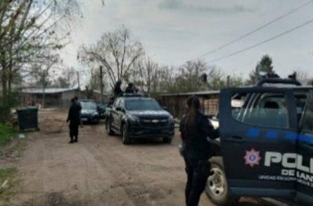 Allanamiento en Barrio Villa Flores de Roldán