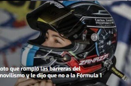 Rompió las barreras del automovilismo por pasión y le dijo que no a la Fórmula1: Ianina Zanazzi