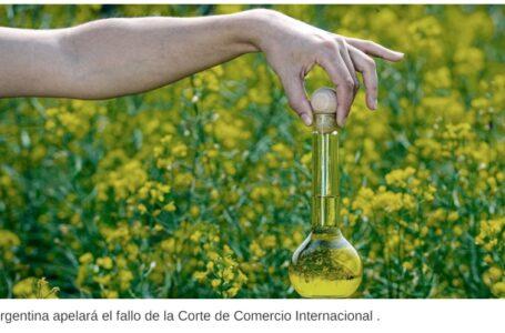Argentina apelará el fallo de la Corte de Comercio Internacional respecto del biodiésel