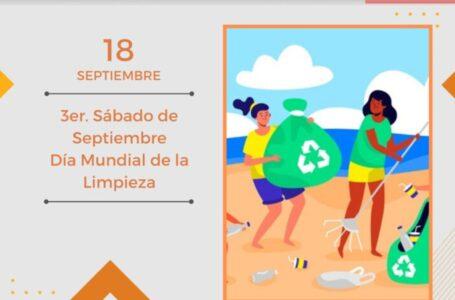 """Tercer sábado de septiembre se celebró en todo el """"Día Mundial de la Limpieza del Planeta"""" y Funes realizó acciones"""