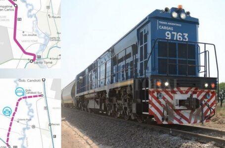 El jefe de Gabinete firma con Perotti y Guerrera un proyecto ferroviario para Santa Fe