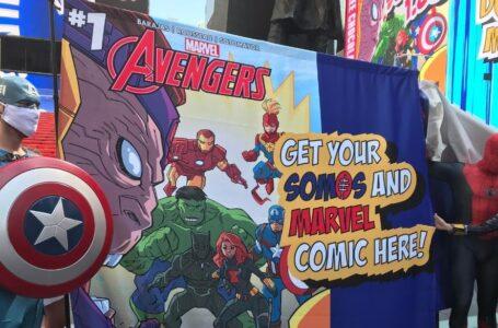 Para incentivar la vacunación contra el COVID-19 Marvel lanzó un cómic de los Avengers