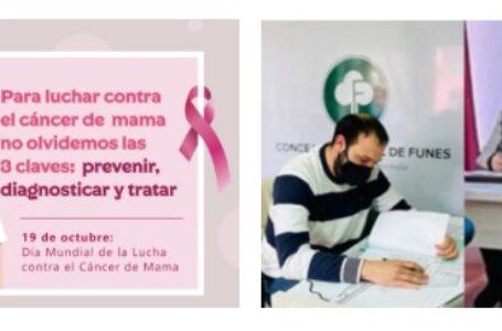 El Concejo de Funes aprobó el proyecto presentado por los ediles Carlos Olmedo y Ana Martelli de comprar un mamógrafo