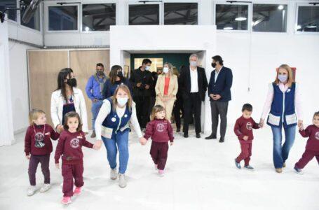 Inauguración del edificio del Jardín de infantes N°362