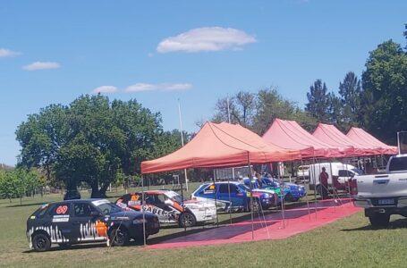 Ya están acampando los corredores del Rally Provincial Santafesino  y sus vehículos en el Polideportivo de Funes