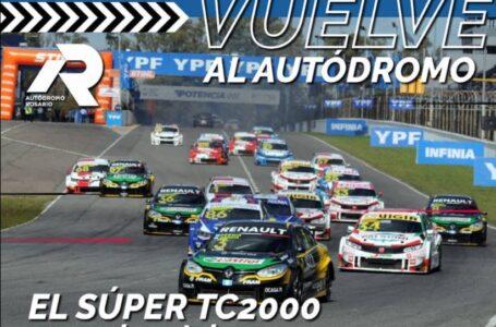 El Autódromo de Rosario recibe el Súper TC2000