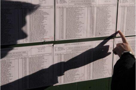 ¿Dónde voto?: ya está disponible el padrón electoral definitivo