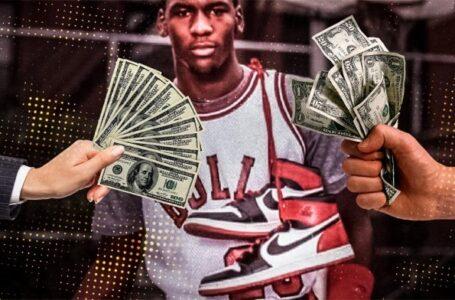 Subastaron un par de zapatillas que usó Michael Jordan en 1984.  En US$ 1,5 M